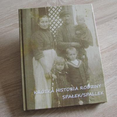 Fotoksiążka z historią rodziny Spałek/Spallek